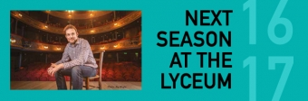 Artistic Director David Greig launches Season 2016/17 at the Royal Lyceum Theatre Edinburgh