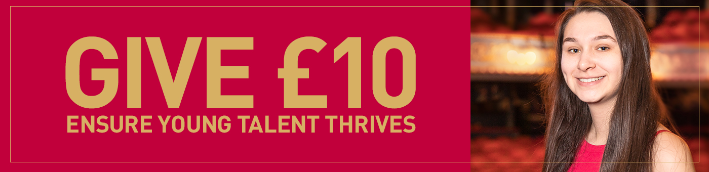 Give £10 and Ensure Scottish Talent Thrives