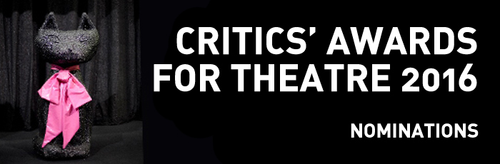 Critics' Awards for Theatre 2016 at the Royal Lyceum Theatre Edinburgh