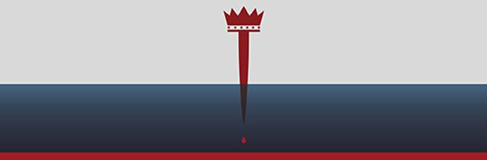 Artwork for King Matt & Macbeth featuring a dagger and a crown