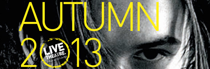 The cover of the Lyceum's 2013/13 Season Brochure