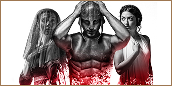 The Iliad by Chris Hannan, Directed by Mark Thomson at the Royal Lyceum Theatre Edinburgh