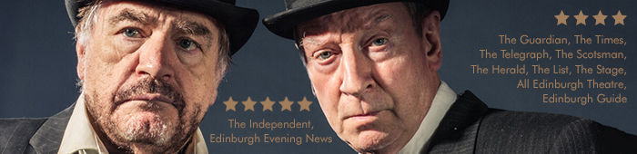 Waiting for Godot, starring Brian Cox & Bill Paterson at The Lyceum